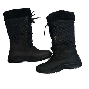WIND RIVER black winter boots size 8
